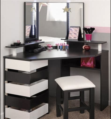 Small Bedroom Vanity by Corner Vanity Table Bedroom Shelby