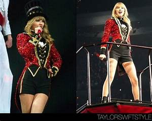 The RED Tour | We Are Never Ever Getting Back Together | [11/11] Marina Toybina Custom Ensemble ...