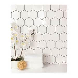 kitchen backsplash option daltile semi gloss white