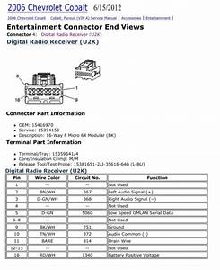 Chevy Cobalt Stereo Wiring Diagram