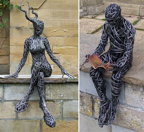 Brabbu Design Inspiration  Wire Sculpture By Richard