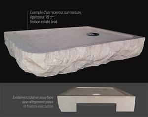Receveur Sur Mesure : receveur de douche classique ~ Premium-room.com Idées de Décoration