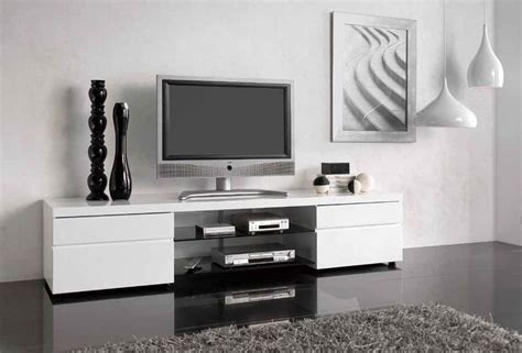 modern tv stand   leave    guests
