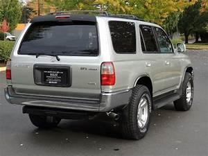 2000 Toyota 4runner Sr5 4wd V6 3 4l   5 Speed Manual    1