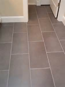 how far apart did you space your 12 quot x 24 quot tiles