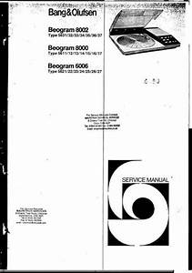 17 Best Images About Bang  U0026 Olufsen Service Manuals On