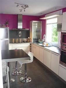 idee couleur peinture mur cuisine galerie avec idee de With idee couleur mur cuisine