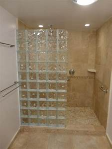 Glass Block Walk Shower Photos