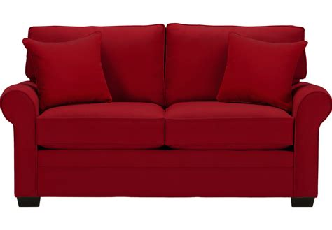 Rooms To Go Loveseat by Home Bellingham Cardinal Loveseat