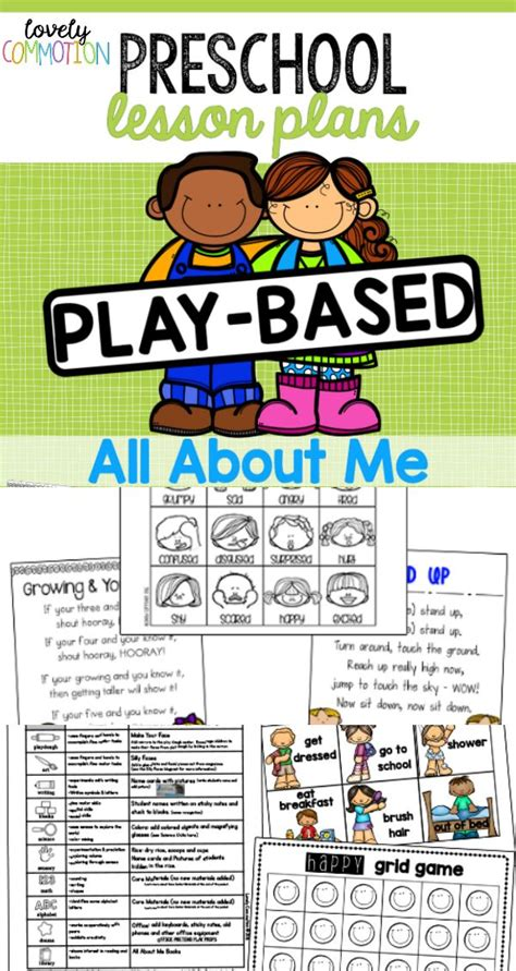 best preschool curriculum 32 creative curriculum lesson plans all about me 417