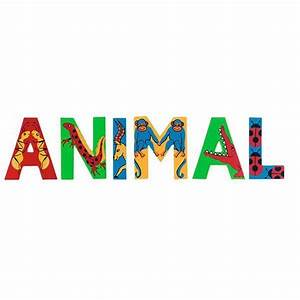 wooden jungle animals alphabet capital letters by lanka kade With wooden jungle animal alphabet letters