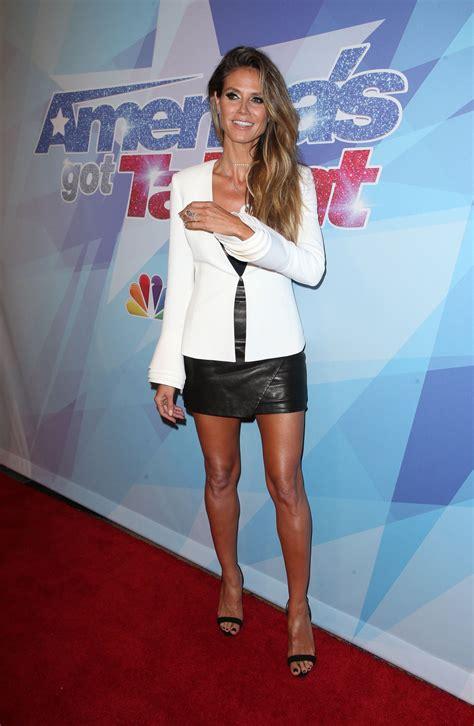 Heidi Klum Nbc America Got Talent Season Semi