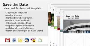 save the date email template by creekjumper themeforest With save the date email templates free