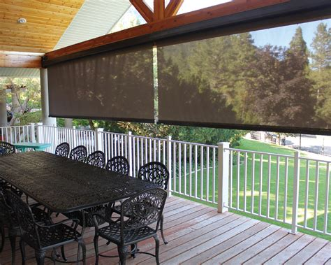 exterior drop shades sugarhouse awning