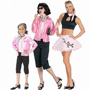 Pink Ladies Costumes Grease Movie Costumes