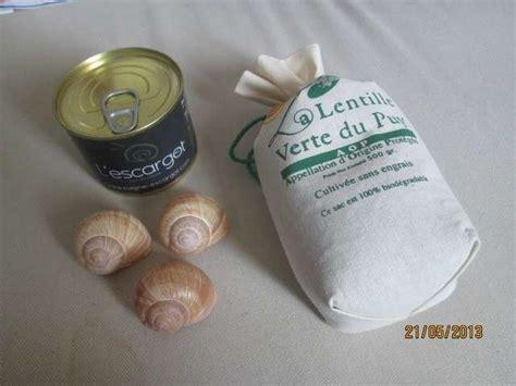 cuisiner les escargots de bourgogne recettes d 39 escargots et lentilles