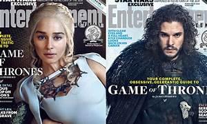 Emilia Clarke and Kit Harington lead Game Of Thrones ...