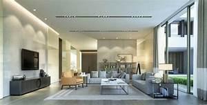 Eclairage Salon Sejour : le s jour moderne 26 exemples de design contemporain ~ Melissatoandfro.com Idées de Décoration
