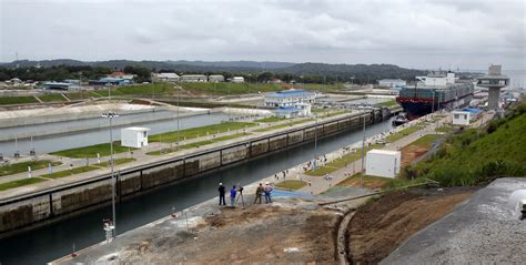 Panama Canal Under Threat From Global Warming