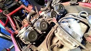 Suzuki Rf 900 Carburettor Removal