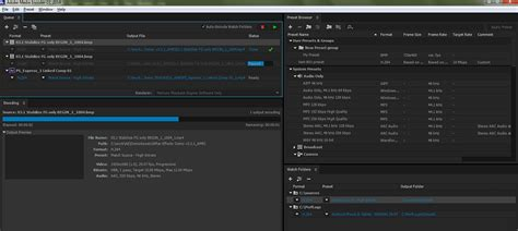 Link Media Premiere by Adobe Media Encoder Cc 2018 Free