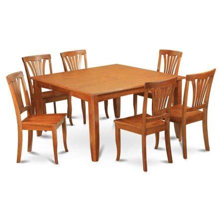 east west furniture parf7 sbr w 7 parfait east west furniture pfav7 sbr w 7 parfait square