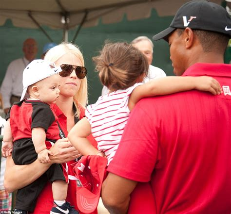 Tiger Woods' ex-wife Elin Nordegren is seen for the first ...
