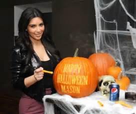 Une Citrouille Pour Halloween : photos kim kardashian en mode halloween avant l 39 heure ~ Carolinahurricanesstore.com Idées de Décoration