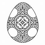 Easter Coloring Pages Egg Adults Eggs Hard Adult Celtic Dragon Complex Clipart Printable Clip Getcolorings Library Popular Bytes sketch template