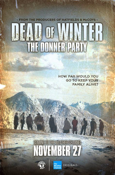 donner party winter dead poster weather documentary channel movie manifest destiny tv trapped journey deadly imdb infamous journeys revisit most