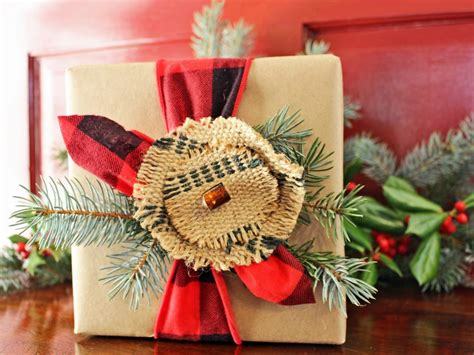 christmas gift wrapping ideas hgtv