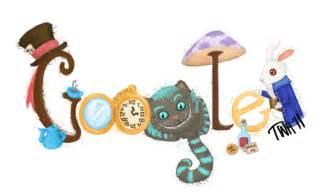 Alice in Wonderland Google Doodle