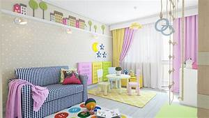 55 Kids Room Wall Designs, 45 Kids Room Layouts And Decor