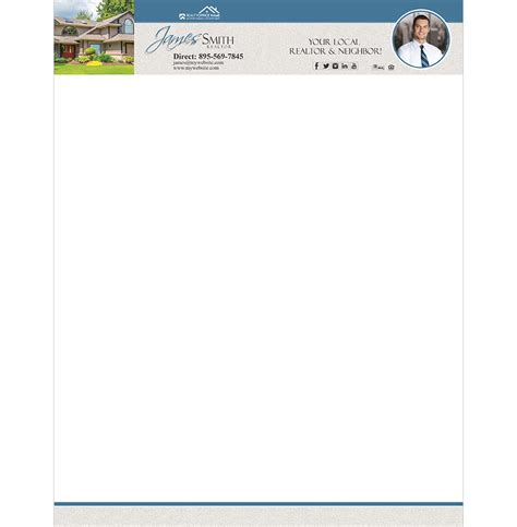real estate letterheads realty letterheads rsd lh
