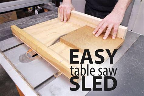 easy table  sled table  sled diy table  table