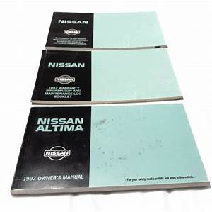 1997 97 Nissan Altima Factory Owners Owner U0026 39 S Manual Guide
