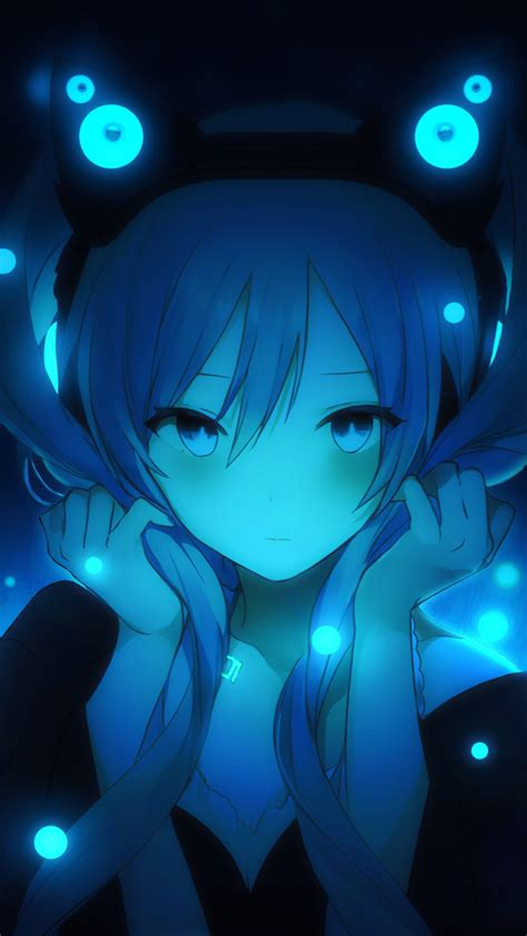 wallpaper hatsune miku vocaloid anime