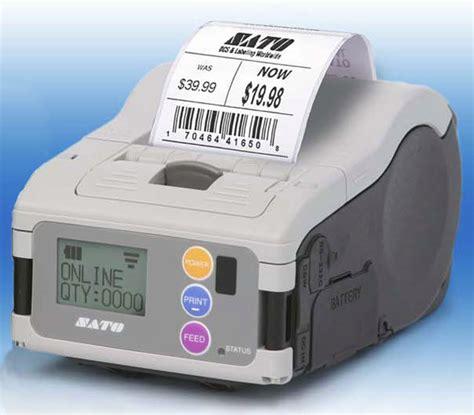 SATO MB200i Mobile Mobile Printer WWMB13080
