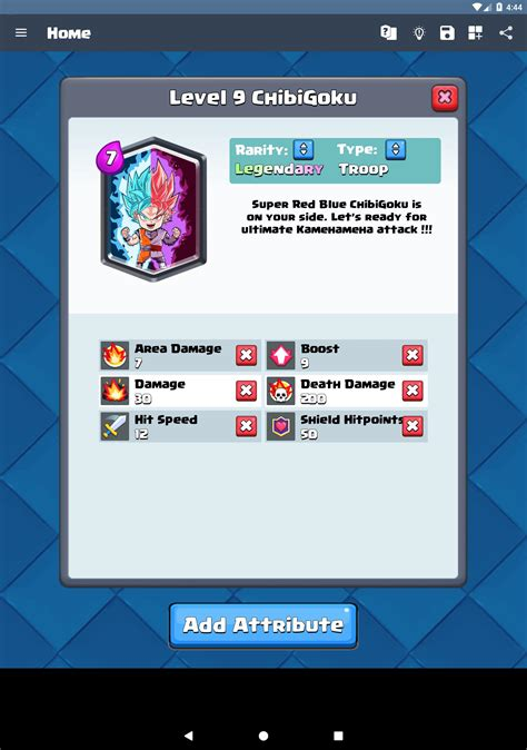 card maker  clash royale  android apk