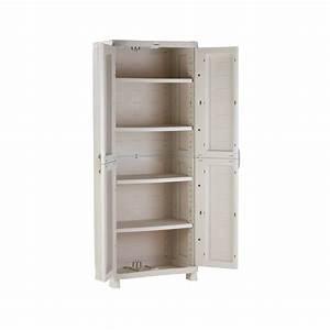 Meuble 70 Cm De Large : armoire de rangement plastiken 70 cm ~ Teatrodelosmanantiales.com Idées de Décoration