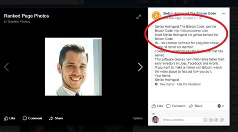 Stefan bitcoin is on facebook. The Bitcoin Code Scam - Online Income News