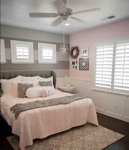 1001 conseils et idees pour une chambre en rose et gris With peinture couleur lin et gris 3 1001 conseils et idees pour amenager un salon blanc et beige