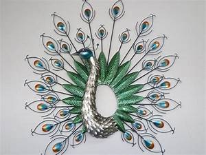 20 photos metal peacock wall art wall art ideas With kitchen cabinet trends 2018 combined with peacock wall art metal