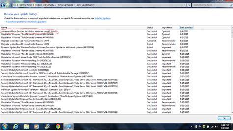 Windows Update: AMD SMBus Solved - Windows 7 Help Forums