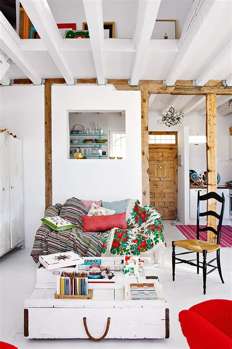 decordemon nuria moras penthouse loft  madrid