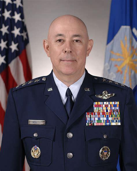 General T Michael Moseley > Us Air Force > Biography