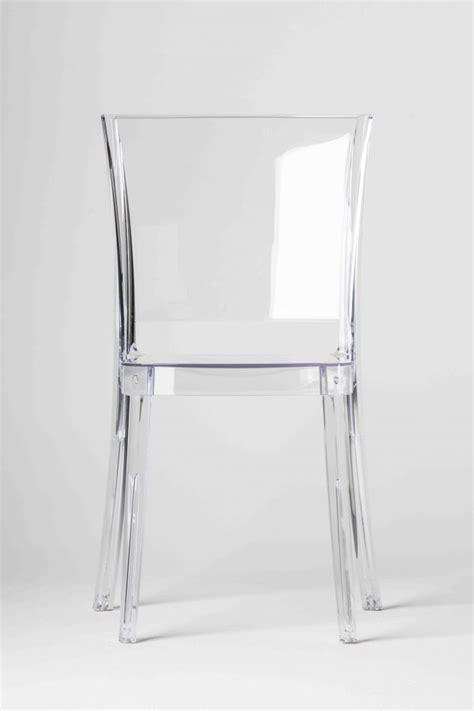 alpha bureau chaise transparente polycarbonate lucienne neutre