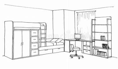 Sketch Children Graphical Illustration Liner Interior
