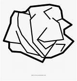 Emoji Papel Arrugado Crumpled Coloring Paper Kindpng sketch template