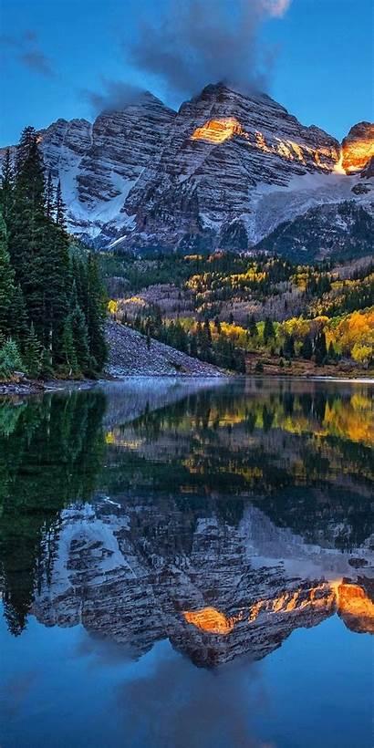 Sunny Forest Lake Nature Mountains Wallpapersmug Mountain